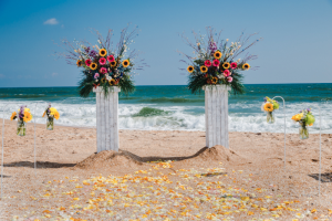Love and Devotion myrtle beach wedding packages & ceremony decorations.